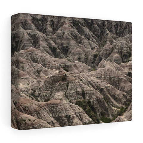 Badlands Stretched canvas