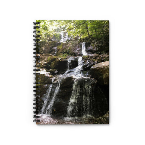 Waterfall Notebook - Ruled Line