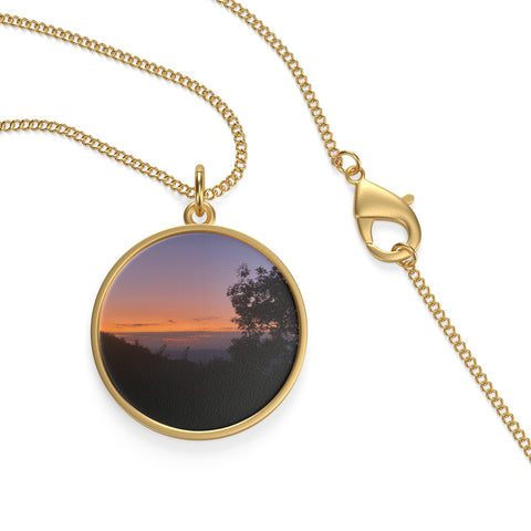 Shenandoah Sunset Single Loop Necklace