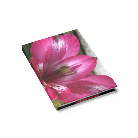 Peruvian Lily Journal - Ruled Line