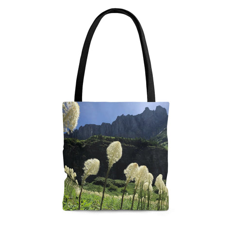 Bear Grass AOP Tote Bag