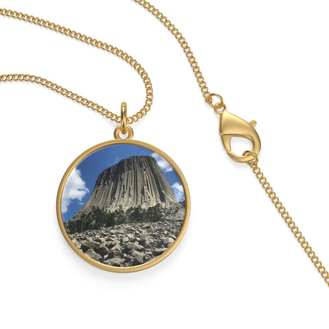Devil's Tower Necklace