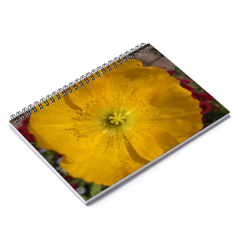 Icelandic Poppy Spiral Notebook - Ruled Line
