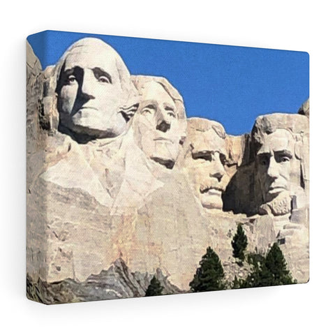 Mount Rushmore Stretched canvas