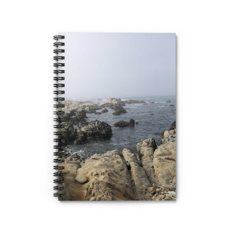 Rocky Waters Spiral Notebook - Ruled Line