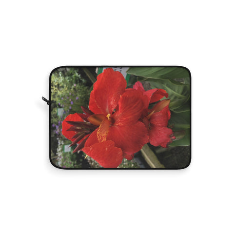 Canna Lily Laptop Sleeve