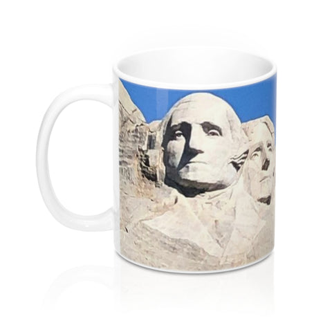 Mount Rushmore SD Mug 11oz