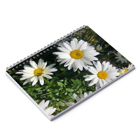 Daisy Spiral Notebook - Ruled Line