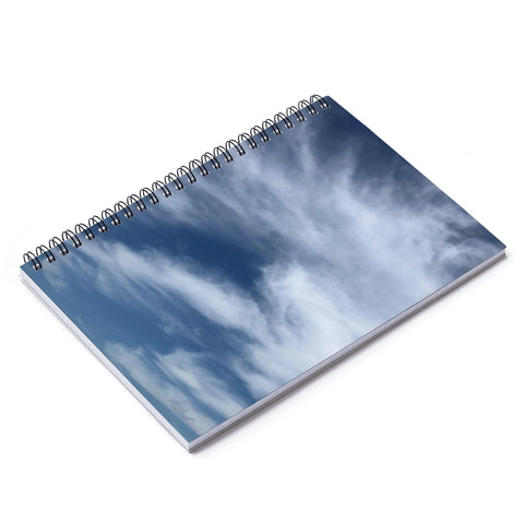 Cloud Spiral Notebook - Ruled Line