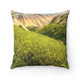 Badlands SD Polyester Square Pillow