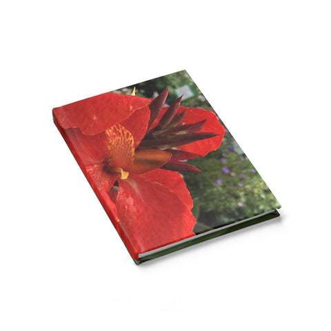 Canna Lily Journal - Ruled Line