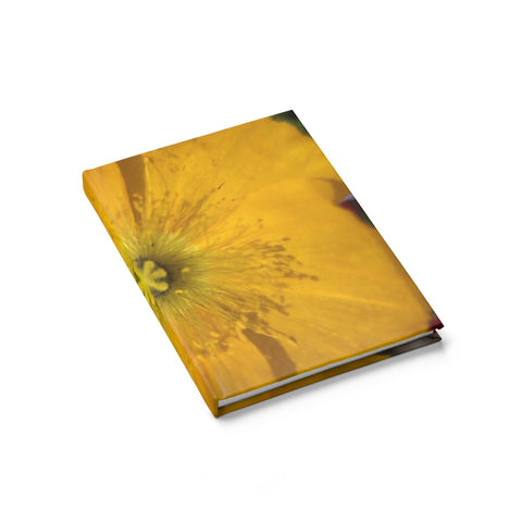 Icelandic Poppy Journal - Ruled Line