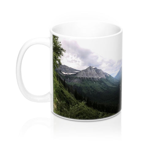 Glacier Park Mountain View Mug 11oz