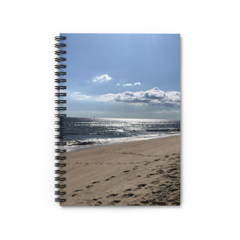 Beach View Spiral Notebook - Ruled Line