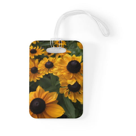 Sweet Black Eyed Susan Bag Tag