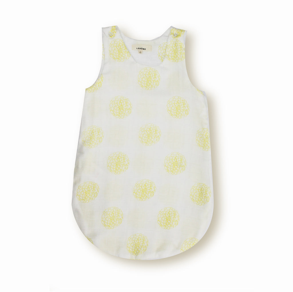 Baby Unisex Sleeping Bag, Yellow/White