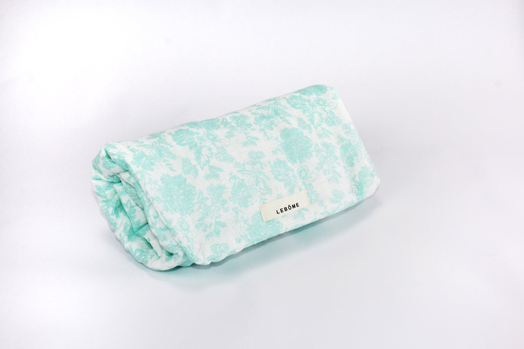 Baby Changing Mat, Oscar, Mint & White