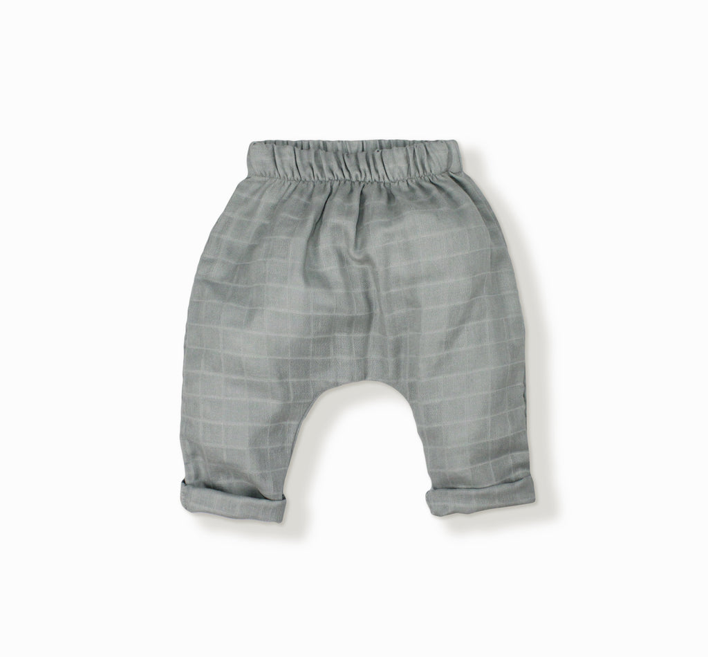 Baby Unisex Marlon Pant, Light Grey