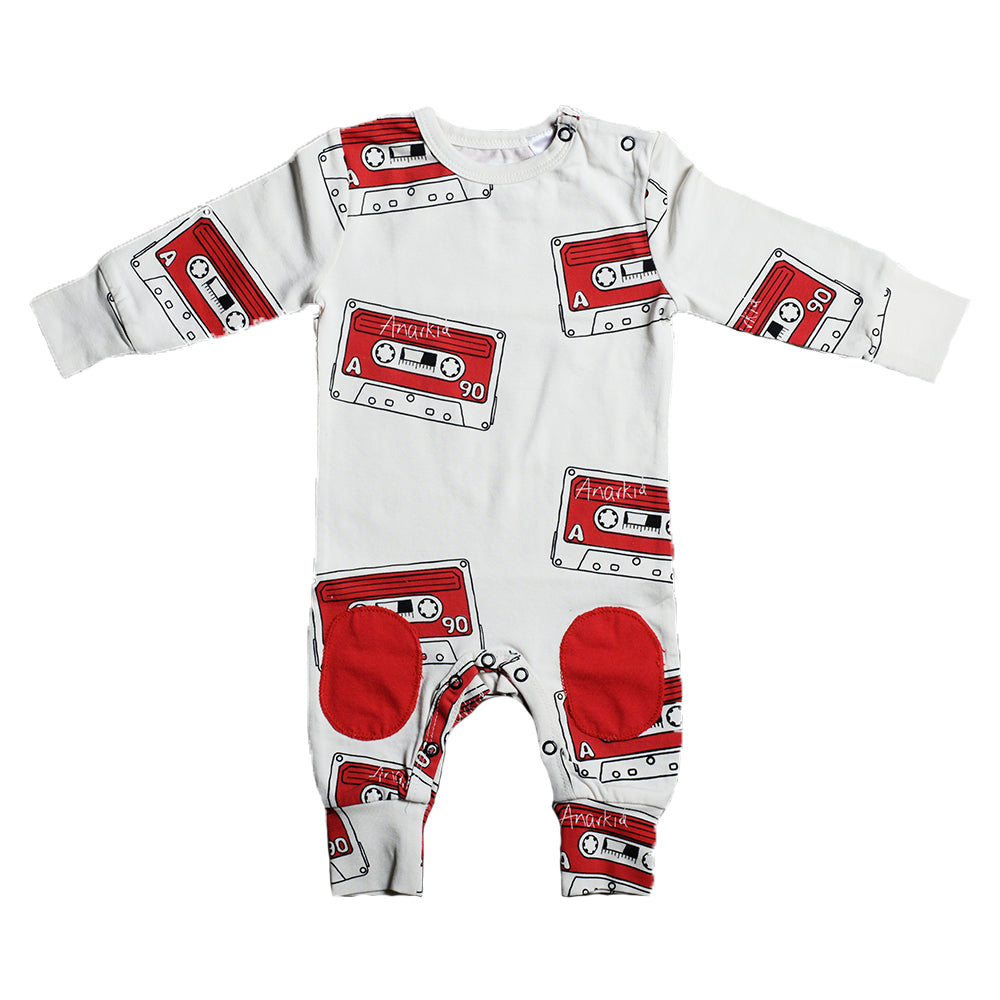Unisex Baby Body Suit, Grey