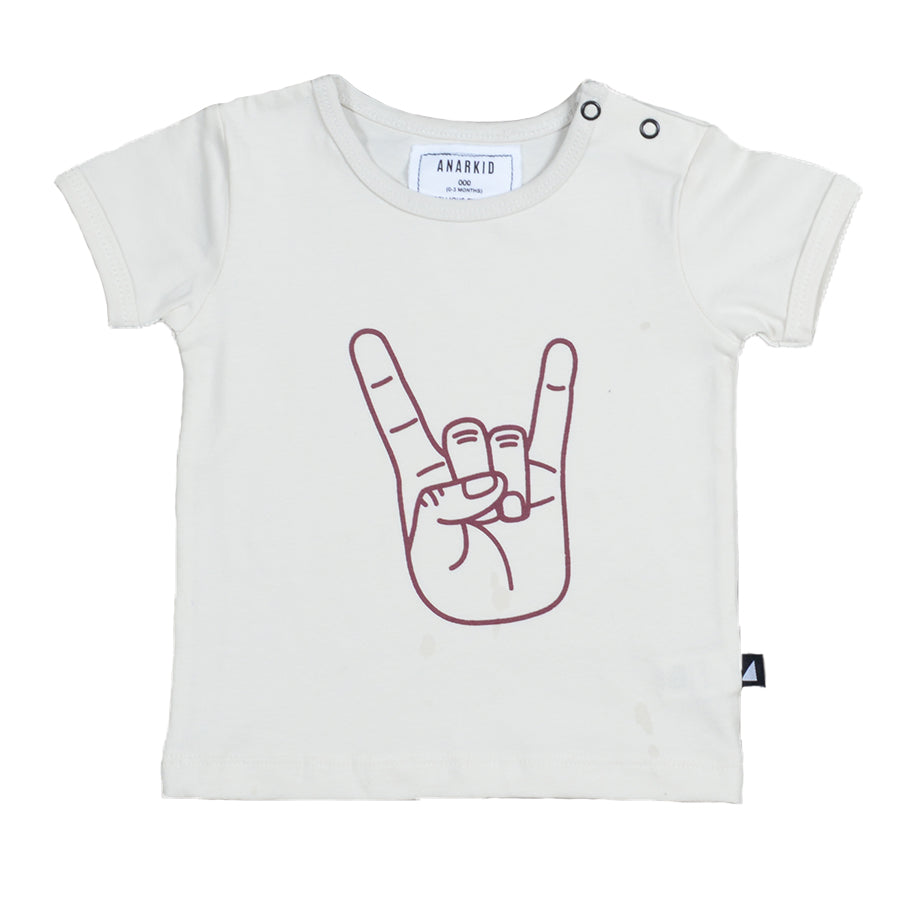 Baby Unisex, Boys/Girls T-shirt, Off-white