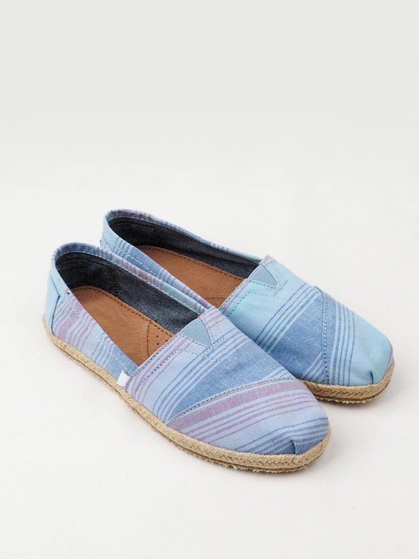 Women's Striped Casual Shoes