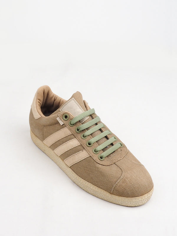 Khaki Low-Cut Sports Shoes