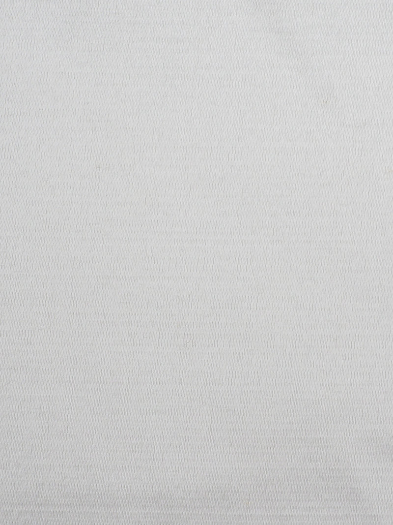 Organic Cotton & Silk Light Weight Satin Fabric ( GS11443A PFD Color )