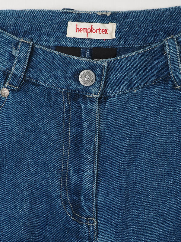 Hemp & Organic Cotton Heavy Weight Twill Jeans