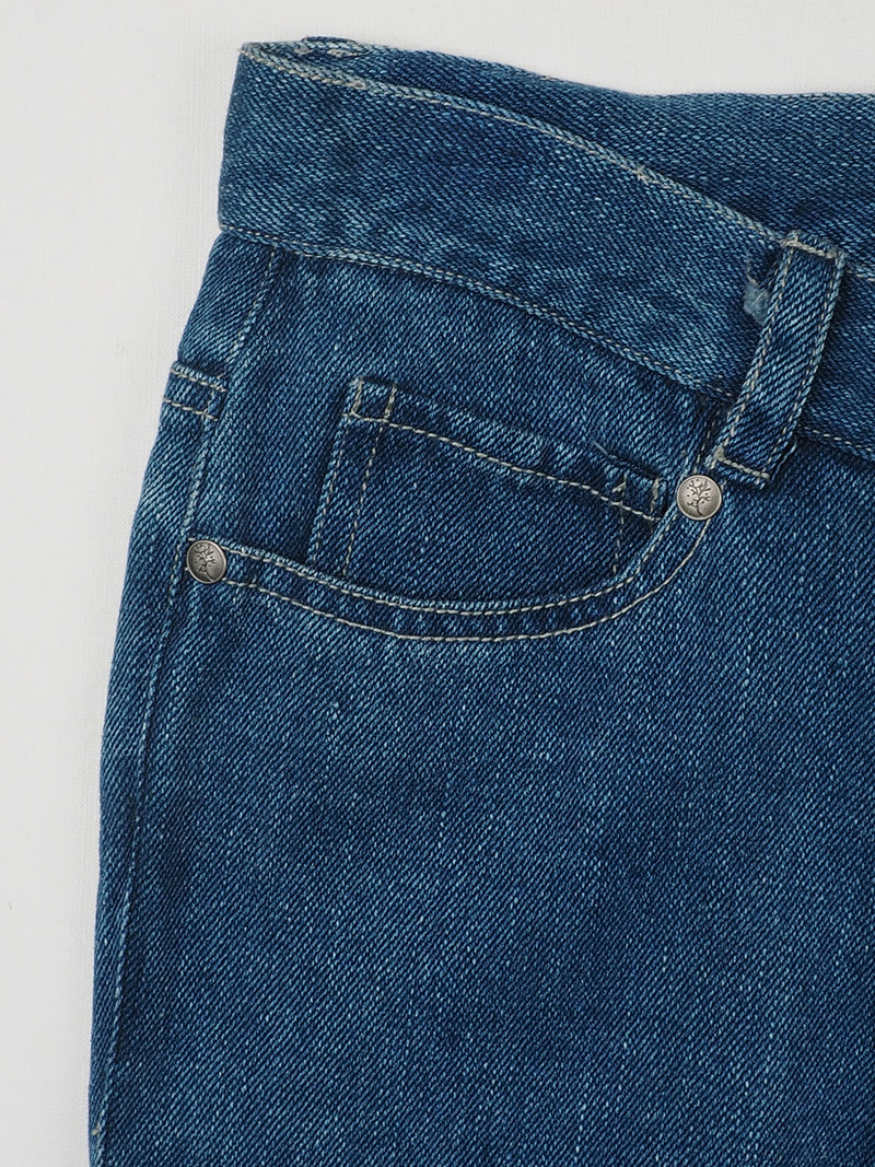 Hemp & Organic Cotton Heavy Weight Twill Jeans(HFX-JEANS-003 ) - Hemp Fortex