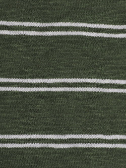 2283d7f1b5d Pure Hemp Mid-Weight Striped Jersey Yarn Dyed Fabric ( KJ39D964 Three  Colors Available)
