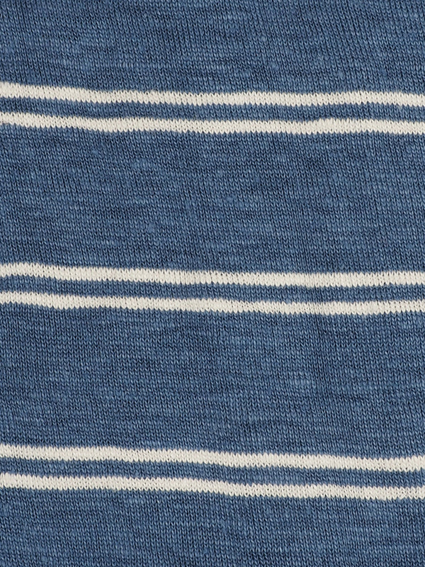 Copy of Pure Hemp Mid-Weight Striped Jersey ( KJ39D964)