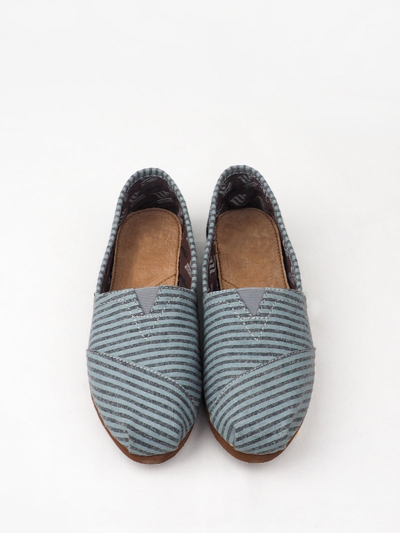 Women's Blue Fine Low Cut Casual Shoes