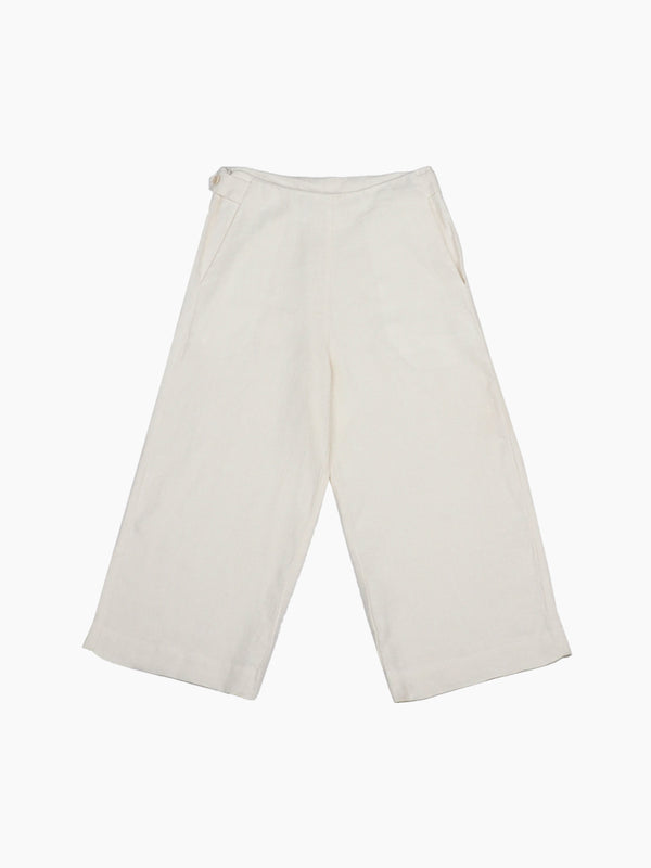 Pure Hemp Cropped Pants