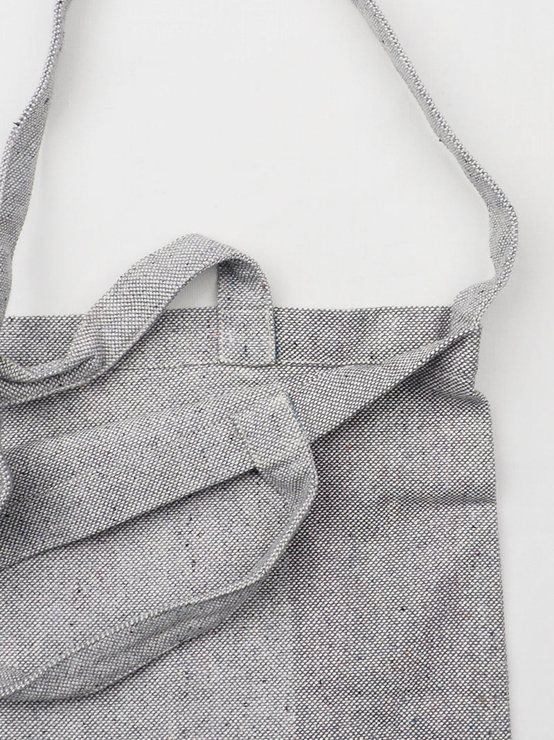 Recycled Hemp & Organic Cotton Yarn Dye Single Shoulder Bag