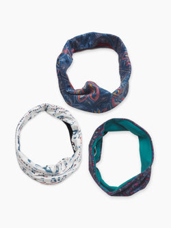 Hemp & Organic Cotton Printed Hair Band - Hemp Fortex