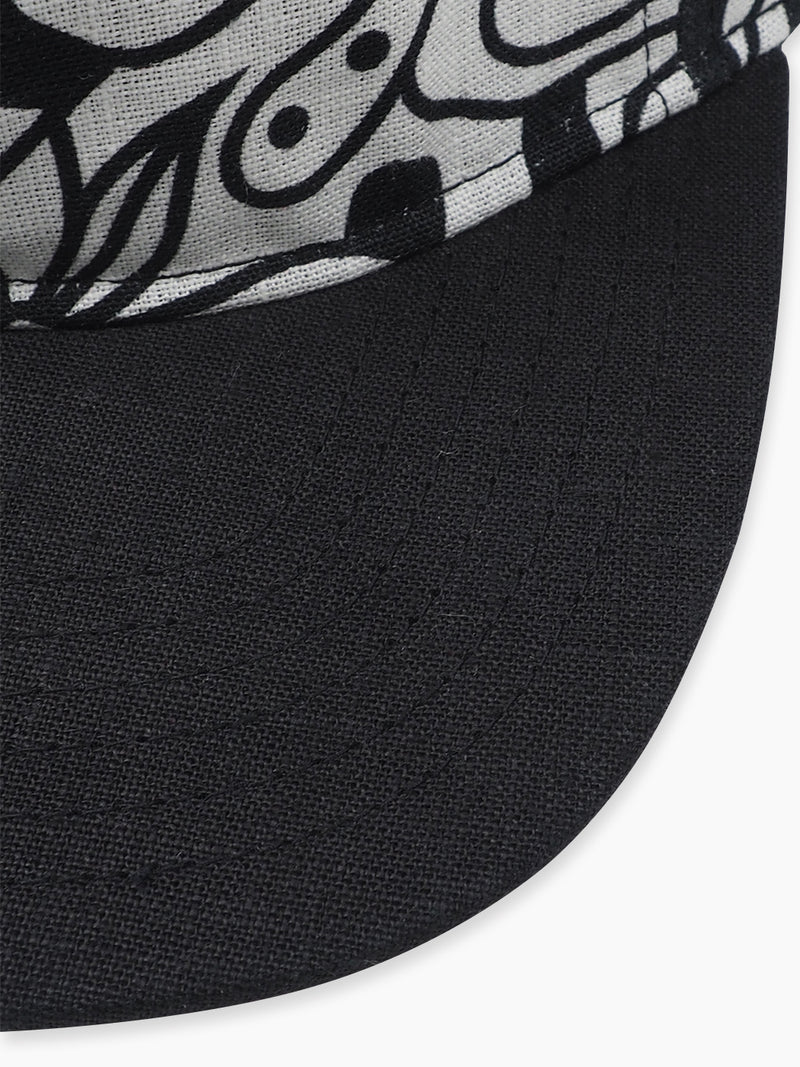 Pure Hemp Printed Baseball Cap