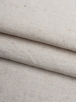 Recycled Hemp & Organic Cotton Light Weight ( Greige-Washing) Muslin Fabric(RE11262B)