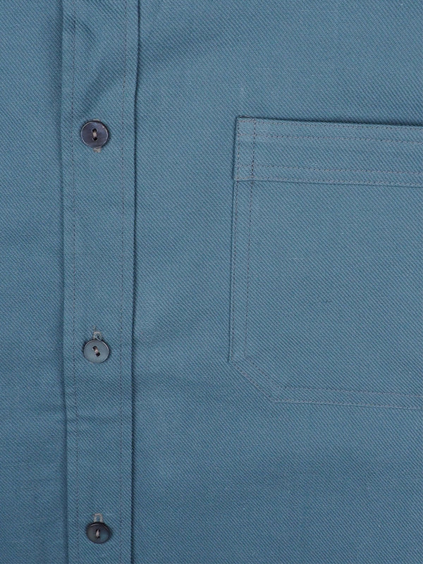 Hemp & Organic Cotton Twill Men's Shirt