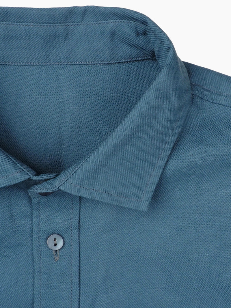 Hemp & Organic Cotton Twill Men's Shirt - Hemp Fortex
