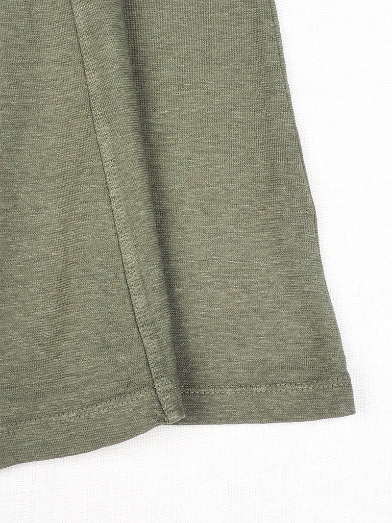 Hemp, Organic cotton Mid-Weight Knit Longuette