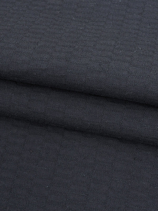 Hemp & Organic Cotton Light Weight Jacquard Fabric ( GH120E160 )