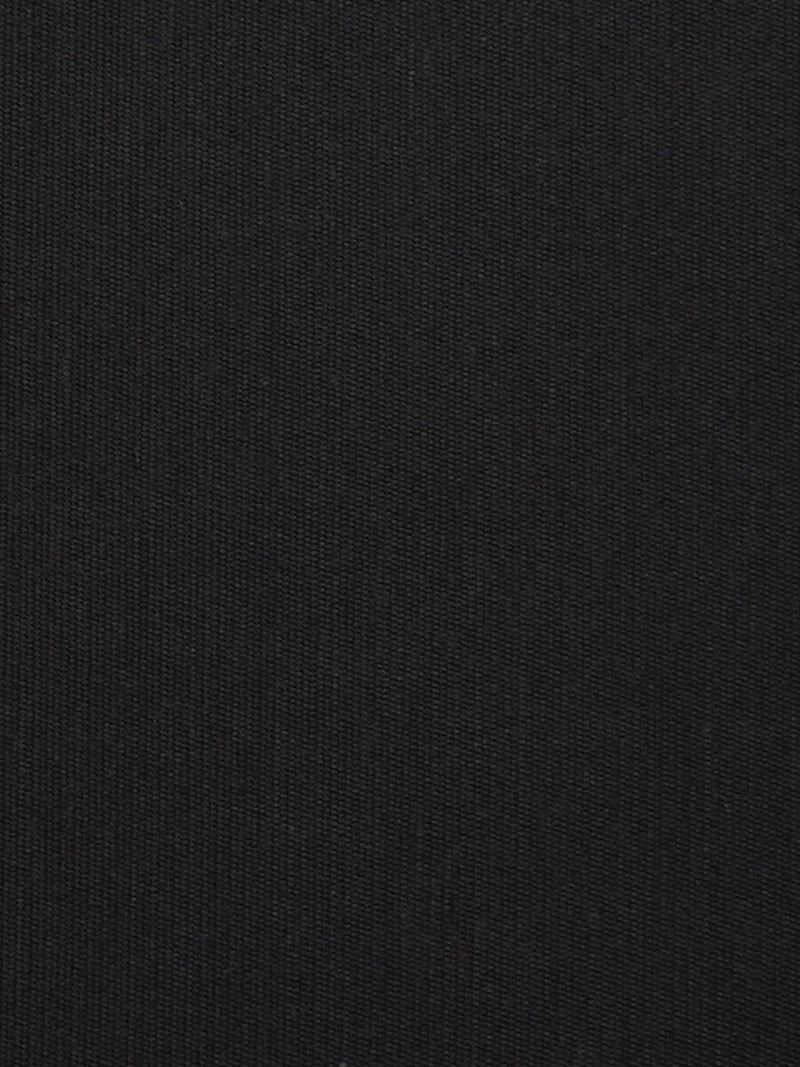 Organic Cotton & Silk Light Weight Satin Fabric ( GS11443A Black Color )