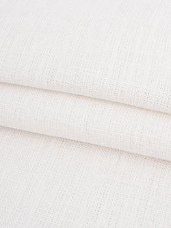 Pure Hemp Light Weight Muslin Fabric ( HE102G White )