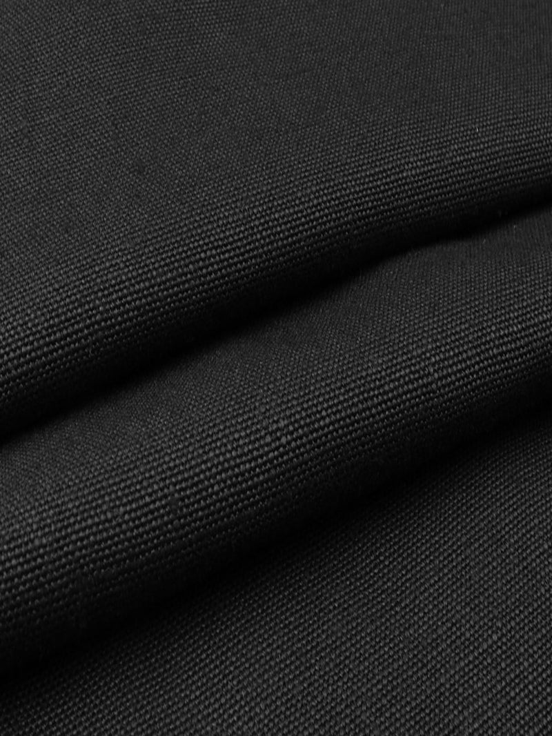 Pure Hemp Heavy Weight Canvas Fabric ( HE111A Black Color )