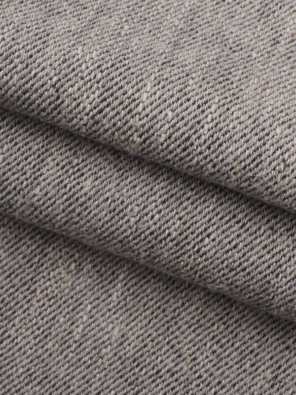 Hemp, Organic Cotton & Yak Mid-Weight Twill Fabric(HG14608)