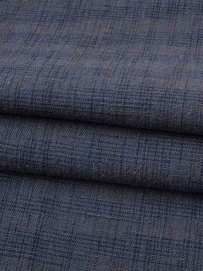 Hemp& Organic Cotton Light Weight Space Dyed Plain Fabric (HG19017Y)