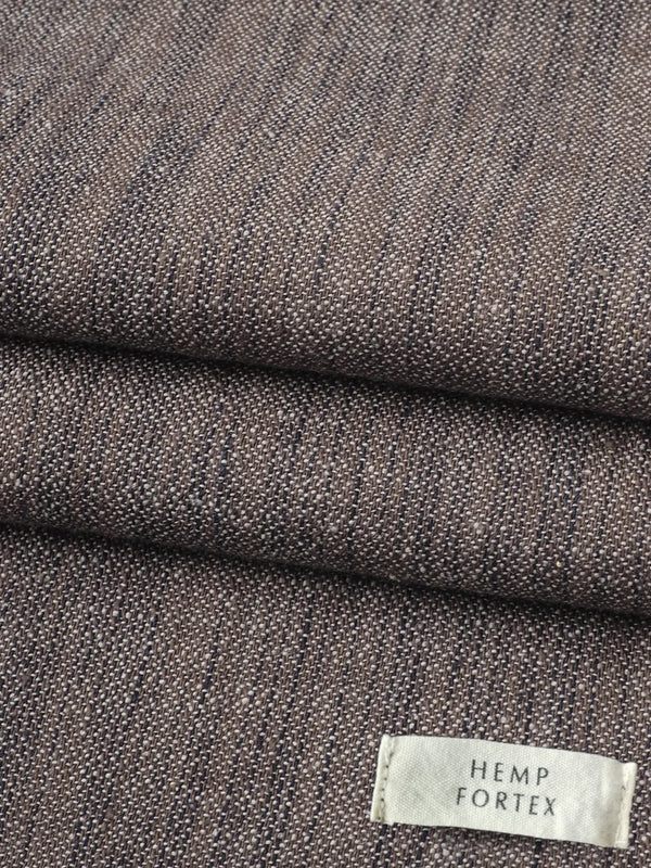 Hemp& Organic Cotton Light Weight Space Dyed Herringbone Fabric (HG19018Y)