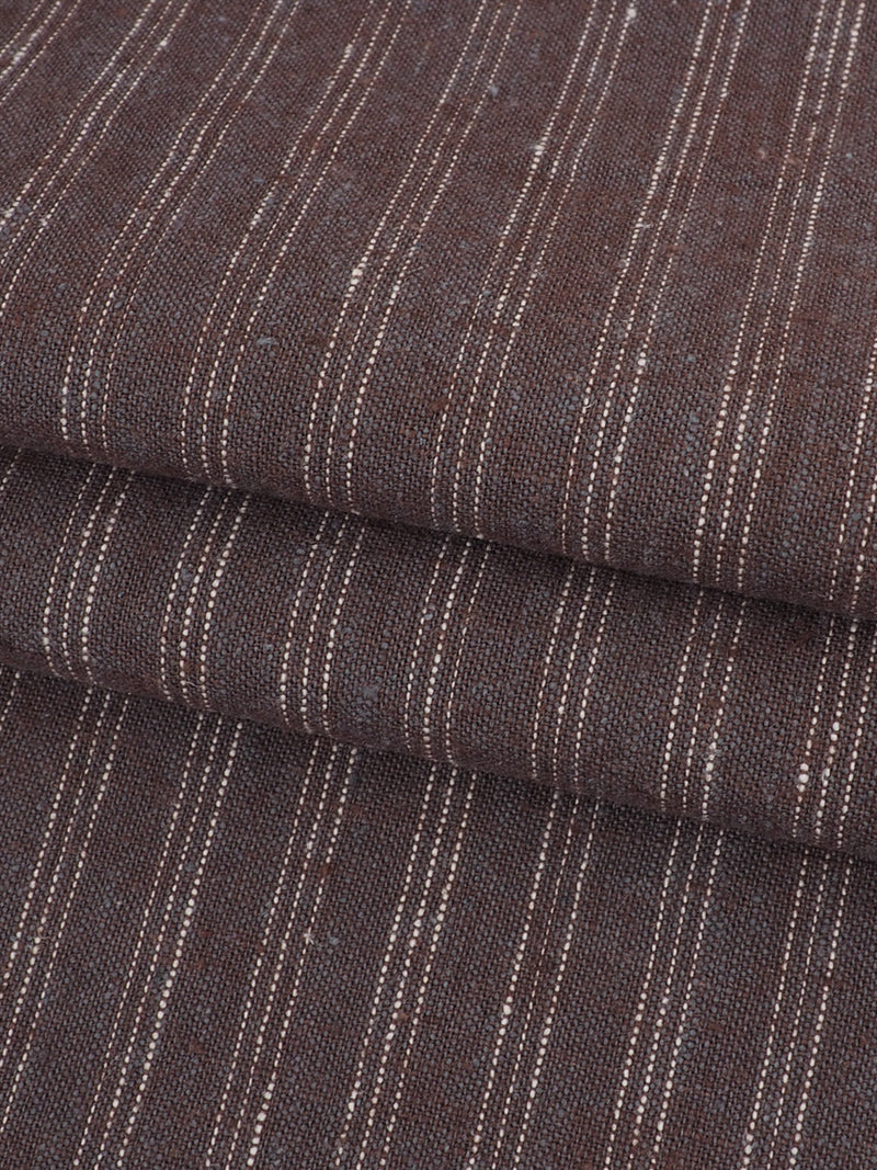 Hemp & Organic Cotton Light Weight Stripe Fabric ( HG58E130C )