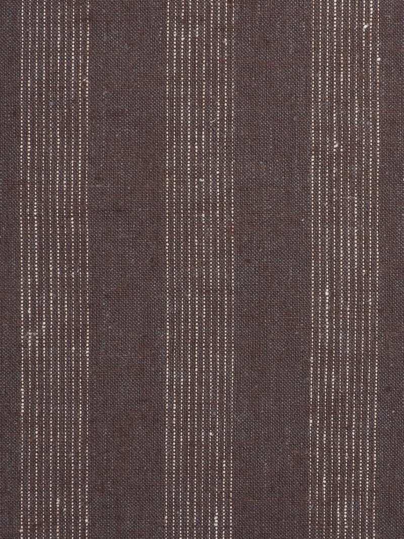 Hemp & Organic Cotton Light Weight Stripe Fabric  ( HG58E134B )