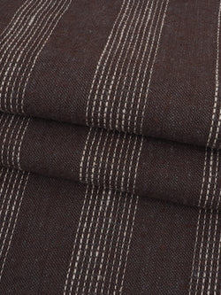 Hemp & Organic Cotton Light Weight Stripe Fabric  ( HG58E135A )